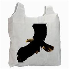 Landing Eagle I Recycle Bag (One Side)