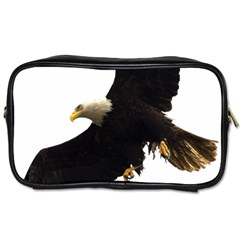 Landing Eagle I Travel Toiletry Bag (Two Sides)
