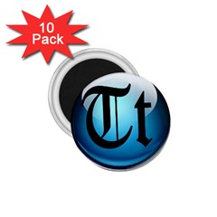 Small Logo Of Trickytricks 1.75  Button Magnet (10 pack)