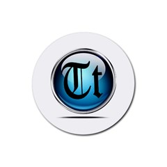 Small Logo Of Trickytricks Drink Coasters 4 Pack (Round)