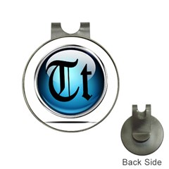 Small Logo Of Trickytricks Hat Clip with Golf Ball Marker