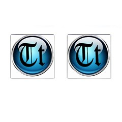 Small Logo Of Trickytricks Cufflinks (Square)