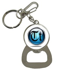 Small Logo Of Trickytricks Bottle Opener Key Chain