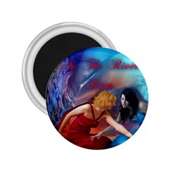 As The River Rises 2.25  Button Magnet
