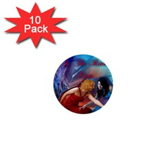 As The River Rises 1  Mini Button (10 Pack)