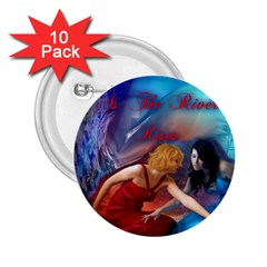 As The River Rises 2.25  Button (10 pack)