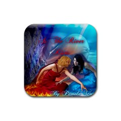 As The River Rises Drink Coasters 4 Pack (Square)