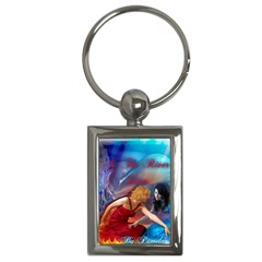 As The River Rises Key Chain (Rectangle)