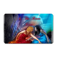 As The River Rises Magnet (Rectangular)