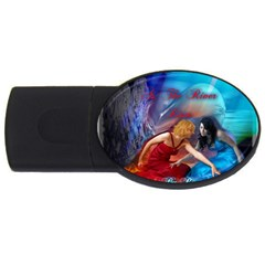 As The River Rises 2GB USB Flash Drive (Oval)