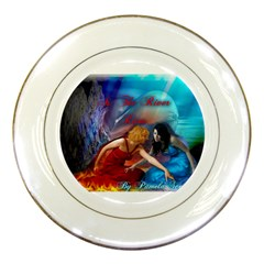 As The River Rises Porcelain Display Plate
