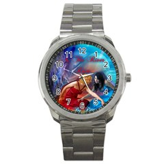 As The River Rises Sport Metal Watch