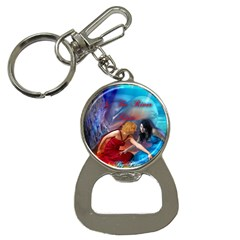 As The River Rises Bottle Opener Key Chain