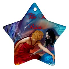 As The River Rises Star Ornament (Two Sides)