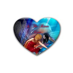 As The River Rises Drink Coasters (heart)