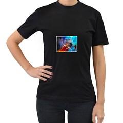 As The River Rises Womens' T Shirt (black)