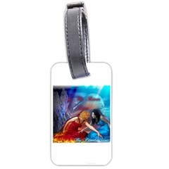 As The River Rises Luggage Tag (One Side)