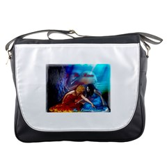 As The River Rises Messenger Bag