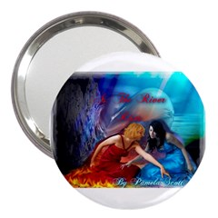 As The River Rises 3  Handbag Mirror