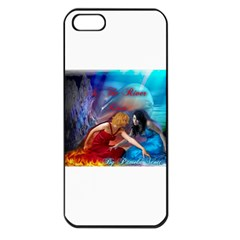As The River Rises Apple iPhone 5 Seamless Case (Black)