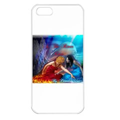 As The River Rises Apple iPhone 5 Seamless Case (White)
