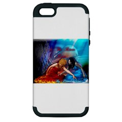 As The River Rises Apple iPhone 5 Hardshell Case (PC+Silicone)