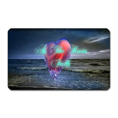 As The Rain Falls Magnet (Rectangular)