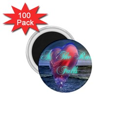 As The Rain Falls 1 75  Button Magnet (100 Pack)
