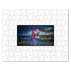 As The Rain Falls Jigsaw Puzzle (Rectangle)