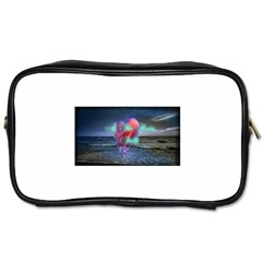 As The Rain Falls Travel Toiletry Bag (Two Sides)