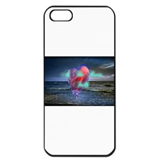 As The Rain Falls Apple Iphone 5 Seamless Case (black)