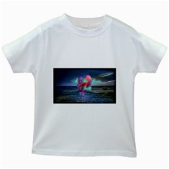 As The Rain Falls Kids' T-shirt (White)
