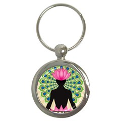 Me & Nirvana Key Chain (round)