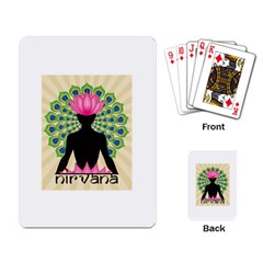 Me & Nirvana Playing Cards Single Design