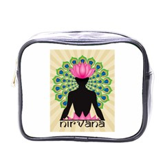 Me & Nirvana Mini Travel Toiletry Bag (One Side)