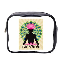 Me & Nirvana Mini Travel Toiletry Bag (two Sides)