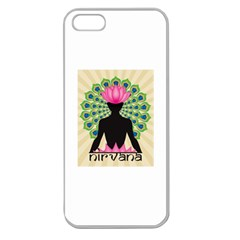 Me & Nirvana Apple Seamless iPhone 5 Case (Clear)