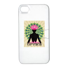 Me & Nirvana Apple iPhone 4/4S Hardshell Case with Stand
