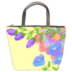 Abstract Floral Small Handbag
