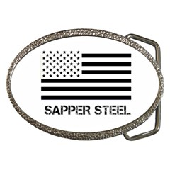 Sapper Steel Buckle Belt Buckle (oval)