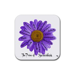 Price Of Sarcoid Drink Coaster (Square)