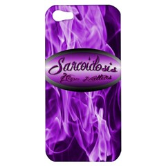 Hope Matters Flames Apple iPhone 5 Hardshell Case