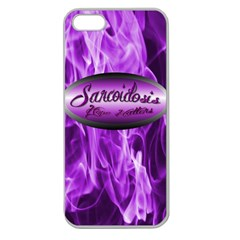 Hope Matters Flames Apple Iphone 5 Seamless Case (Clear)