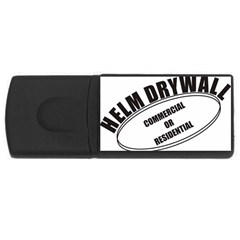 Helm Drywall 4gb Usb Flash Drive (rectangle)