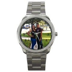 2 Years Stainless Steel Sports Watch (round)