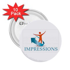 Impressions 2 25  Button (10 Pack)