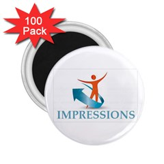 Impressions 2 25  Button Magnet (100 Pack)