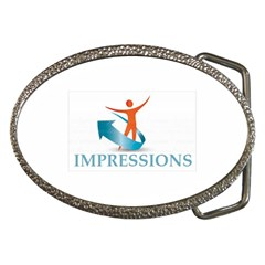 Impressions Belt Buckle (oval)