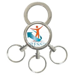 Impressions 3-Ring Key Chain