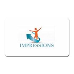 Impressions Magnet (rectangular)